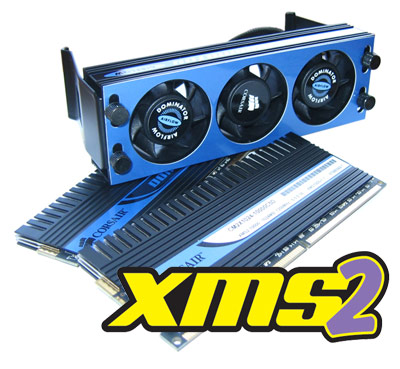 DDR2-Deluxe: Corsair Dominator DDR2-1250