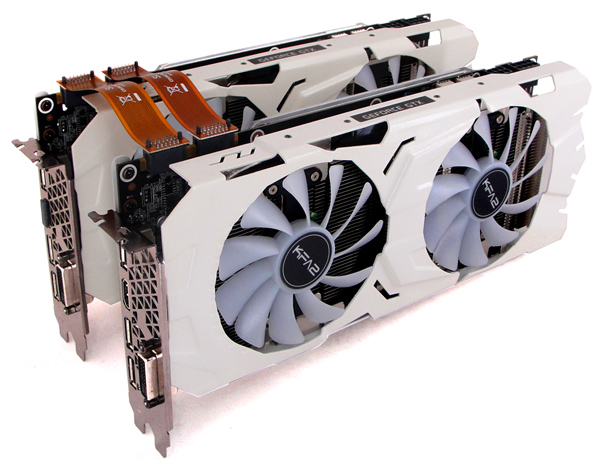 KFA2 GeForce GTX 1070 Ti EX-SNPR White SLI Review