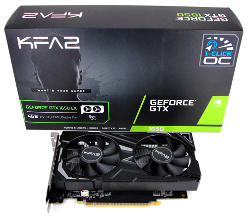 Einsteiger-Turing: KFA2 GTX 1650 EX Review