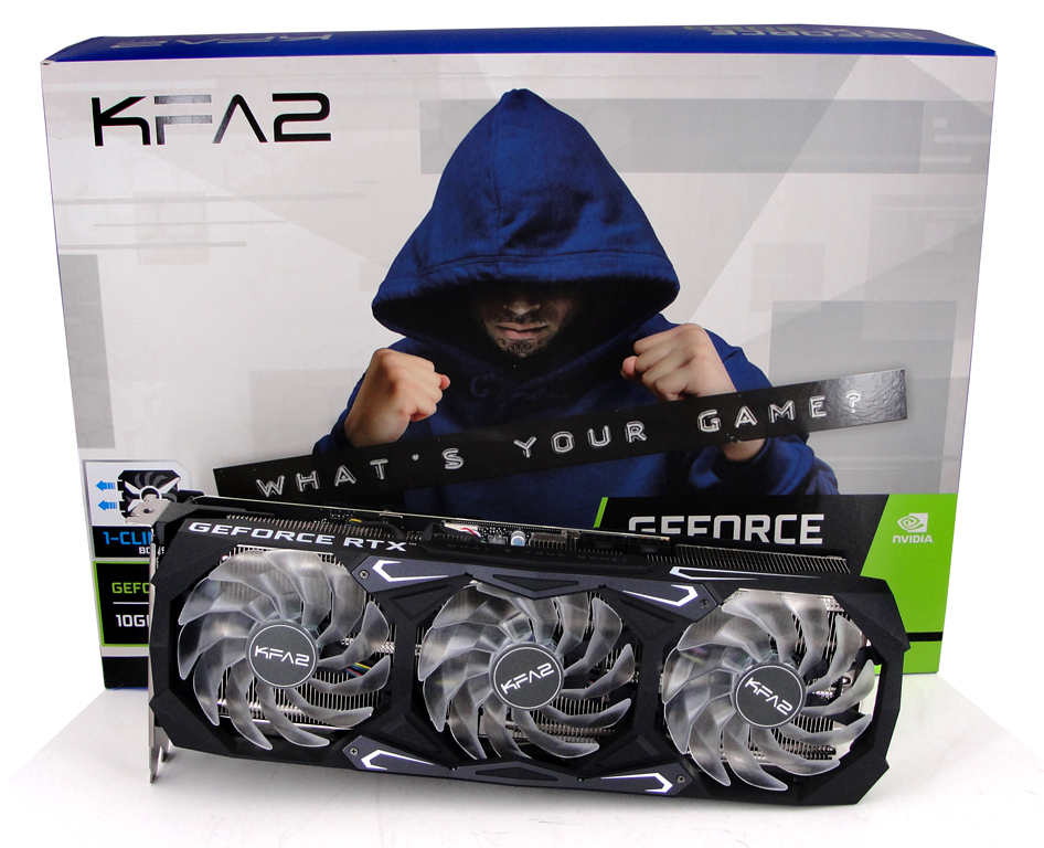 KFA2 GeForce RTX 3080 SG im Test