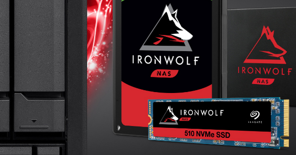 Seagate IronWolf 510 480 GB NAS-SSD Test